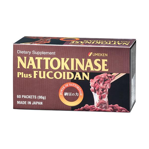 Nattokinase (plus Fucoidan) / 2 mth supply (60 packets)